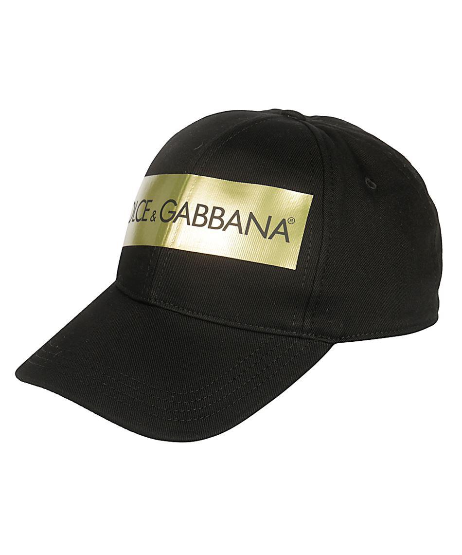 grandi affari grande sconto per tecniche moderne Dolce & Gabbana GH590 GEF95 Cappello con visiera da uomo Nero
