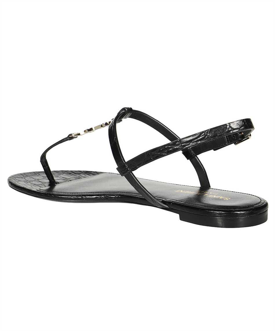 Saint Laurent 659817 2ZEJJ CASSANDRA FLAT Sandals 3