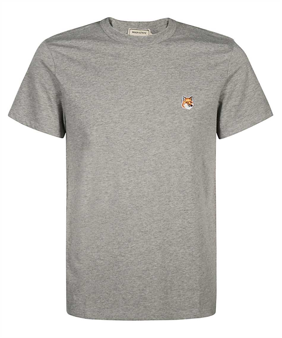 Maison Kitsune AM00103KJ0008 FOX HEAD PATCH CLASSIC T-shirt 1