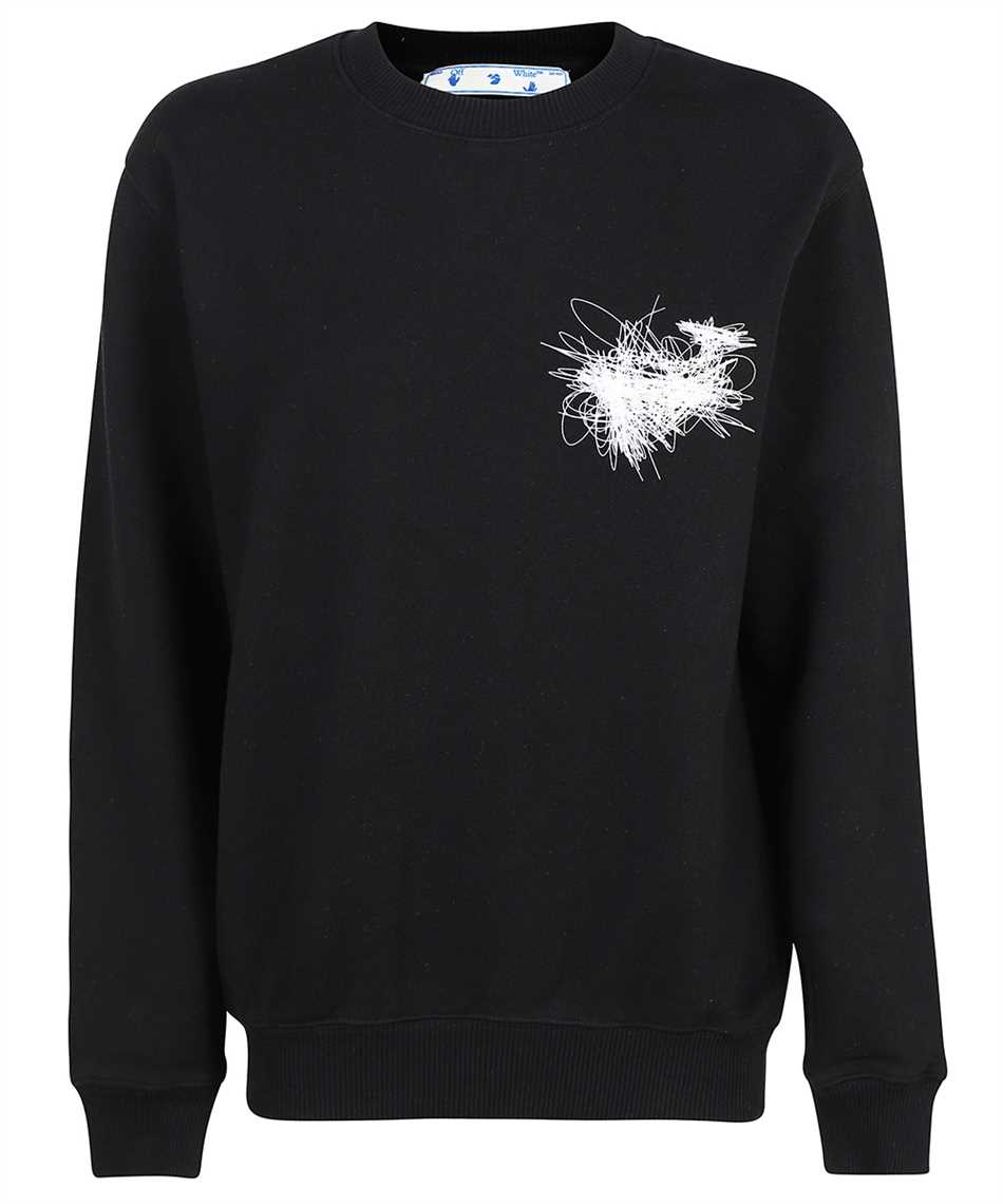 Off-White OWBA055F21JER010 PEN ARROWS CREWNECK Sweatshirt 1