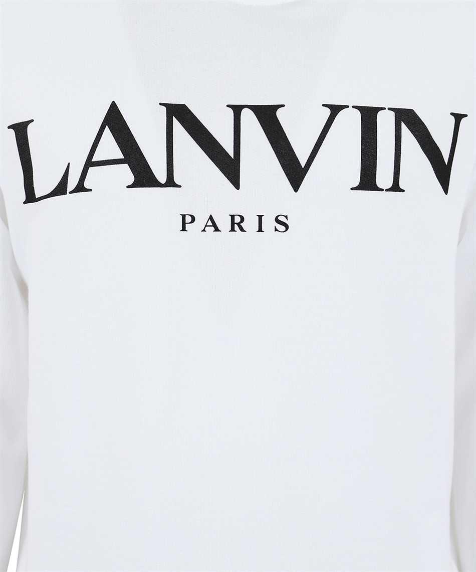 Lanvin RM JE0071 JR19 H20 PRINTED Kapuzen-Sweatshirt 3