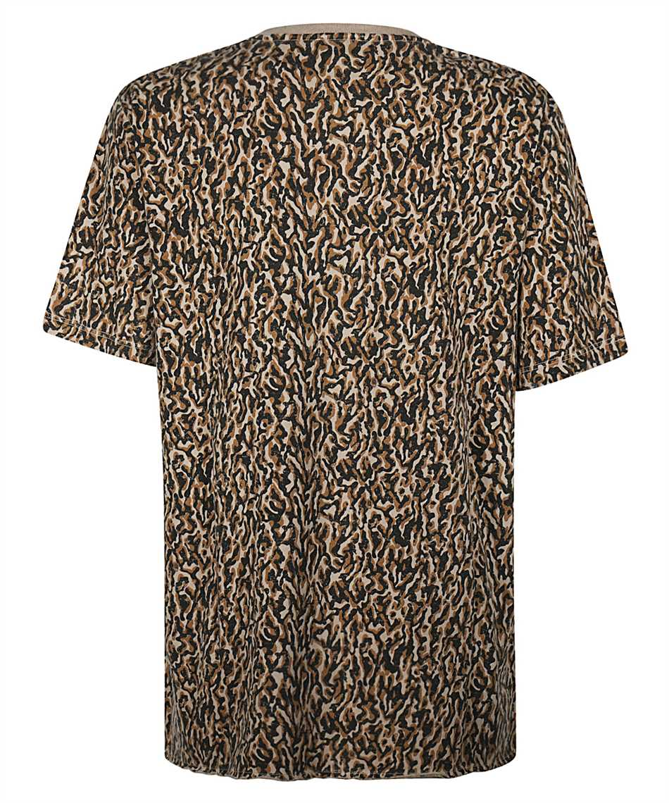 Saint Laurent 628558 YBUY2 LEOPARD-PRINT T-Shirt 2