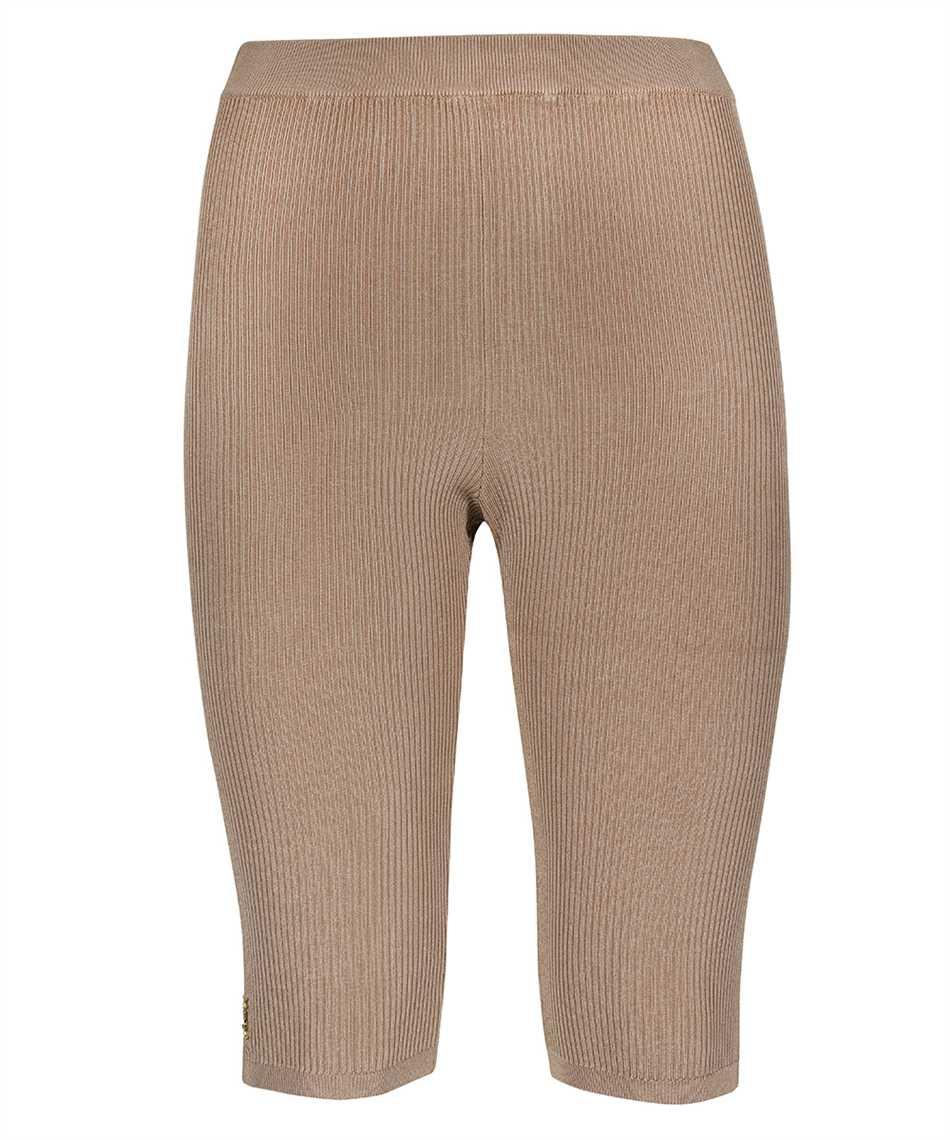 Saint Laurent 657443 Y75BE RIBBED KNIT RIDER Shorts 1