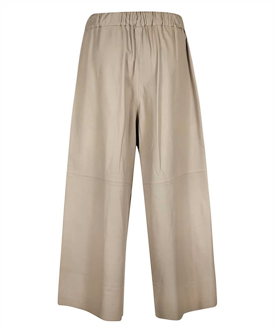 Yves Salomon 9EYP234XXAPXX LAMB LEATHER Trousers 2