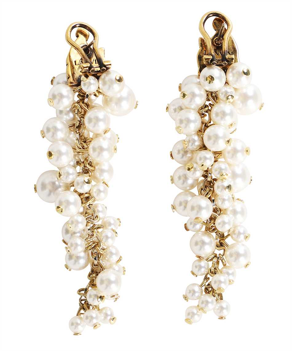 Lanvin AW CJYA0Y PERL A21 MOTHER & DAUGHTER LONG PEARLS Orecchini 2