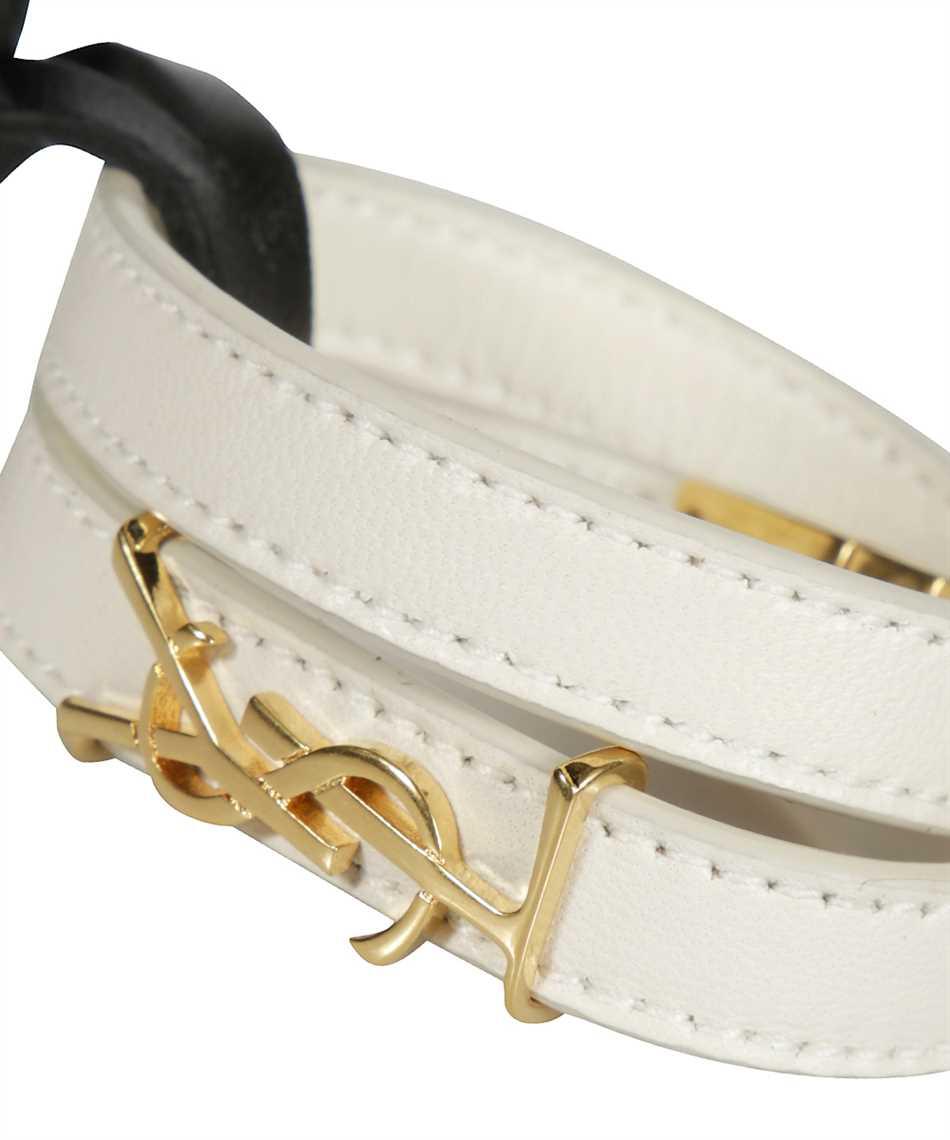 Saint Laurent 536073 BL40J OPYUM DOUBLE WRAP Bracelet 3