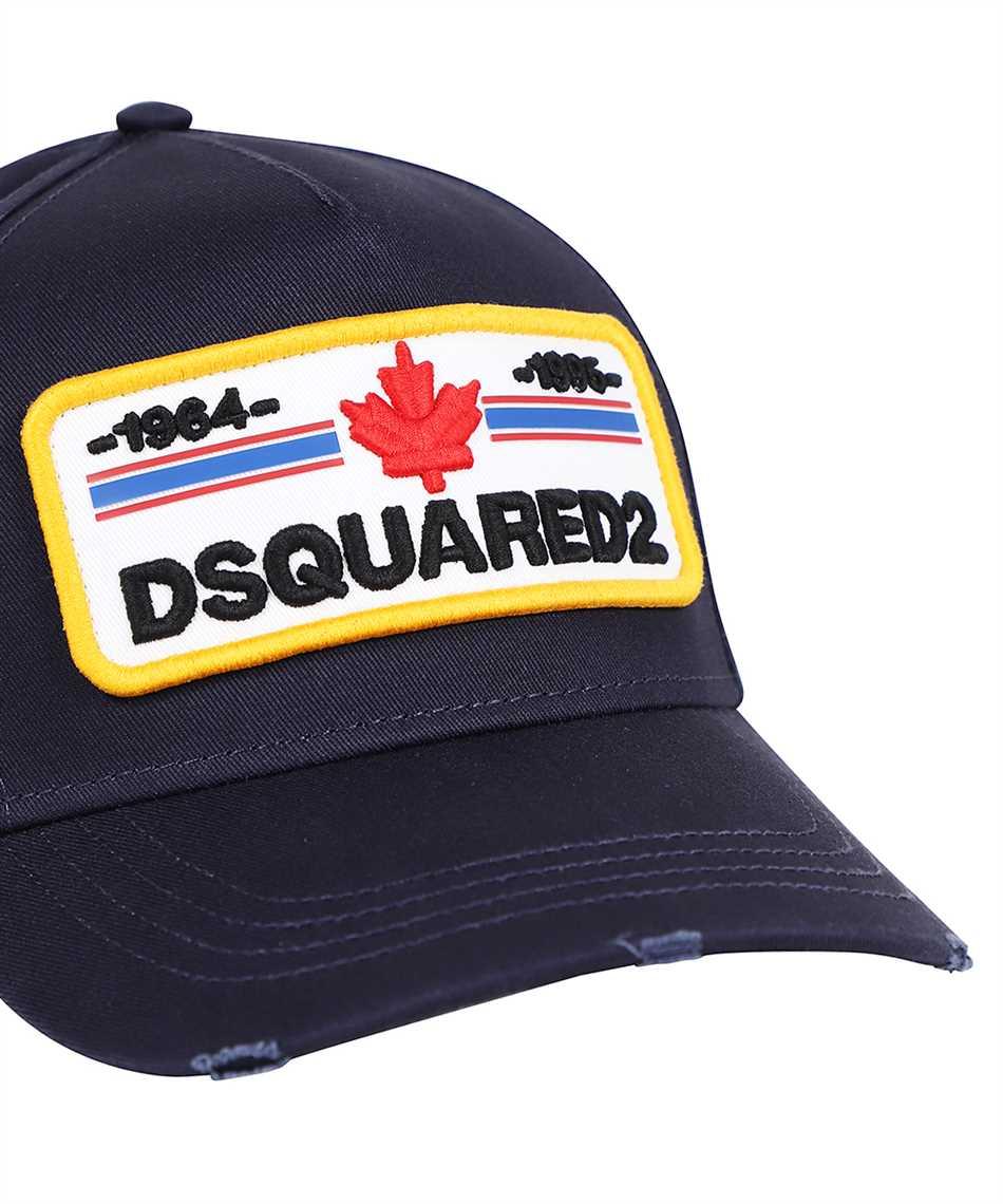 Dsquared2 BCM0502 05C00001 D2 PATCH Cap 3