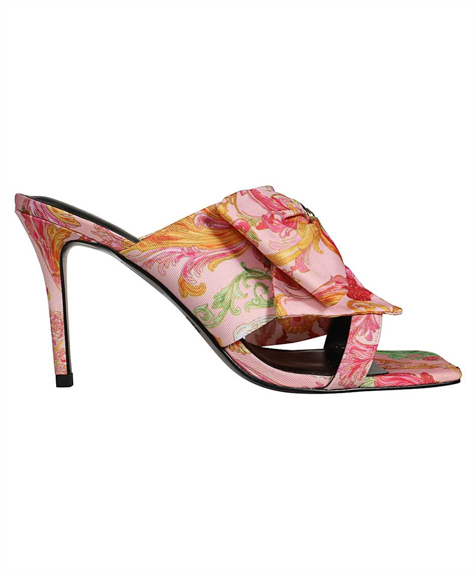 Versace Jeans Couture E0VWAS77 71985 EMILY VERSAILLES PRINT BOW Schuhe 1