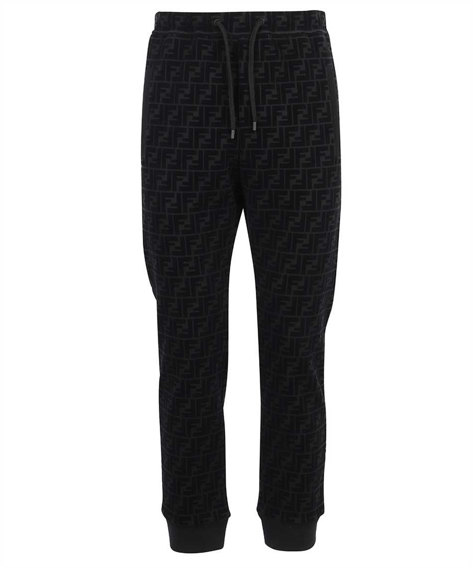 Fendi FB0461 AFRJ FF PIQUET PRINT Trousers 1