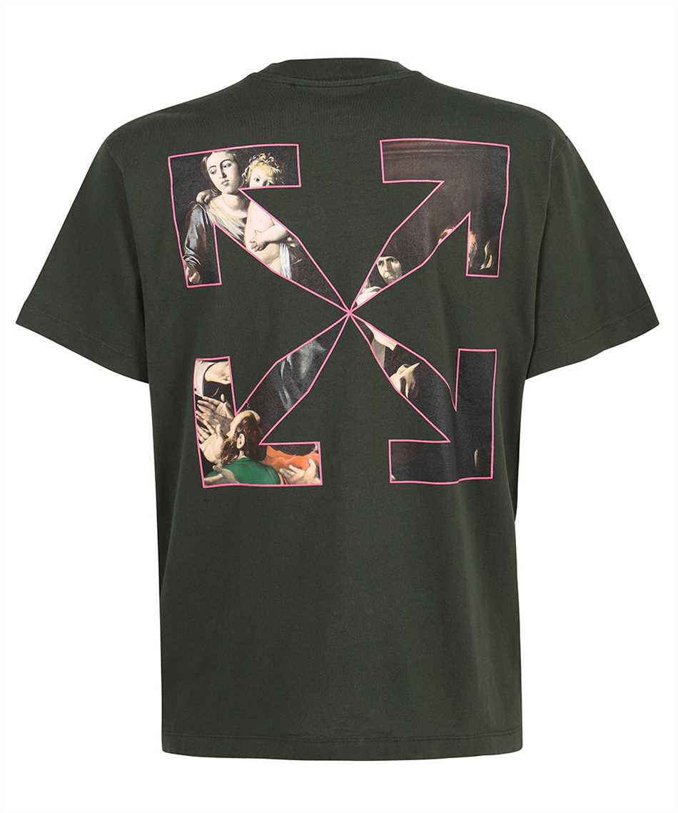 Off-White OMAA038S21JER005 SPRAYED CARAVAGGIO S/S OVER T-shirt 2