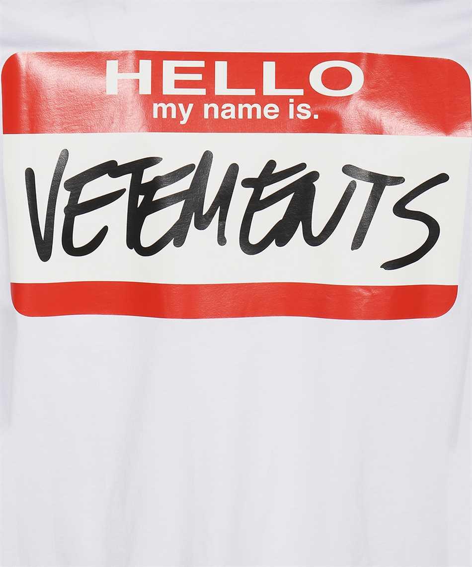 Vetements UE52TR140W MY NAME IS VETEMENTS T-shirt 3