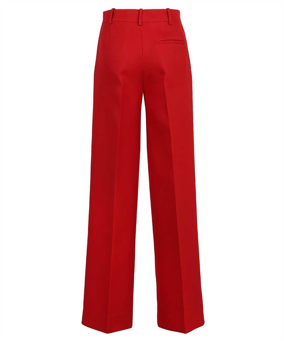 Fendi FR6293 AC4G WIDE SILK WOOL Trousers 2