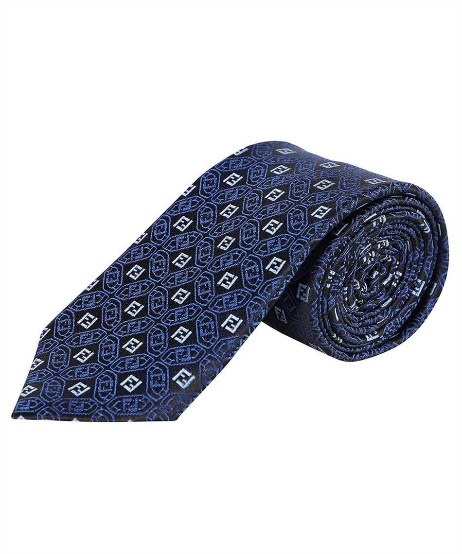 Fendi FXC023 AFY0 JACQUARD FF Krawatte 2