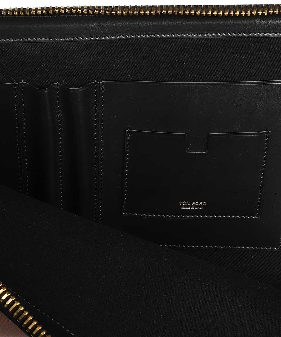 Tom Ford H0355T LCL037 BUCKLEY ZIP Document case 3