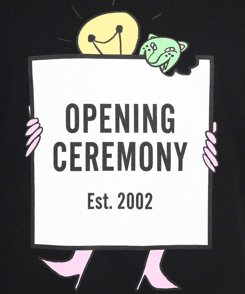 Opening Ceremony YMAA001F21JER003 LIGHTBULB BOXLOGO T-Shirt 3
