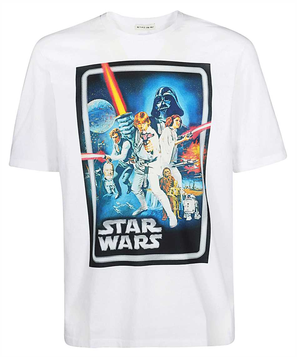 Etro 1Y820 9052 STAR WARS T-shirt 1