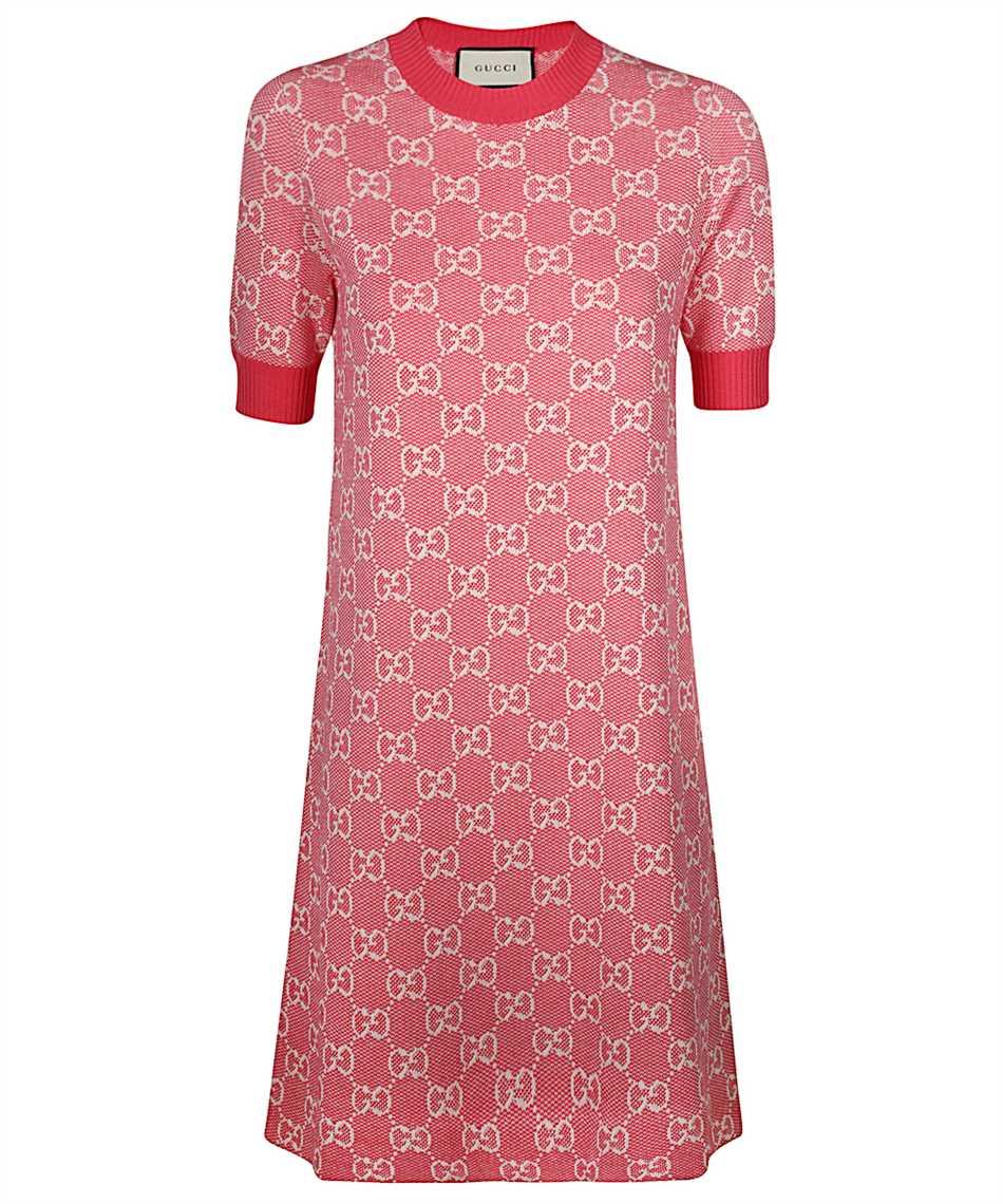 Gucci 17 XKBHQ GG Kleid Rosa