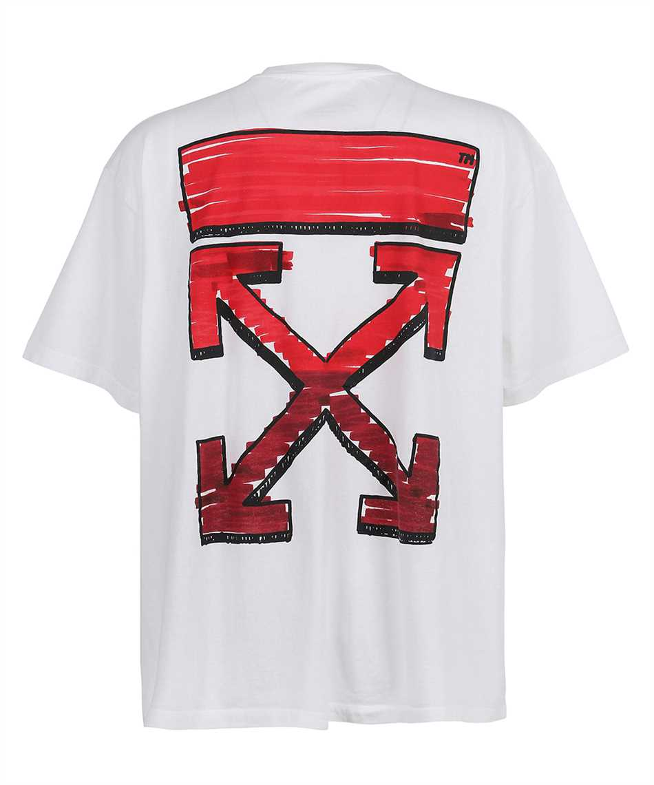 Off-White OMAA038R21JER002 T-shirt 2