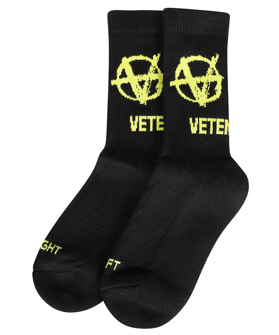 Vetements UA52SO300X ANARCHY LOGO Socks 1