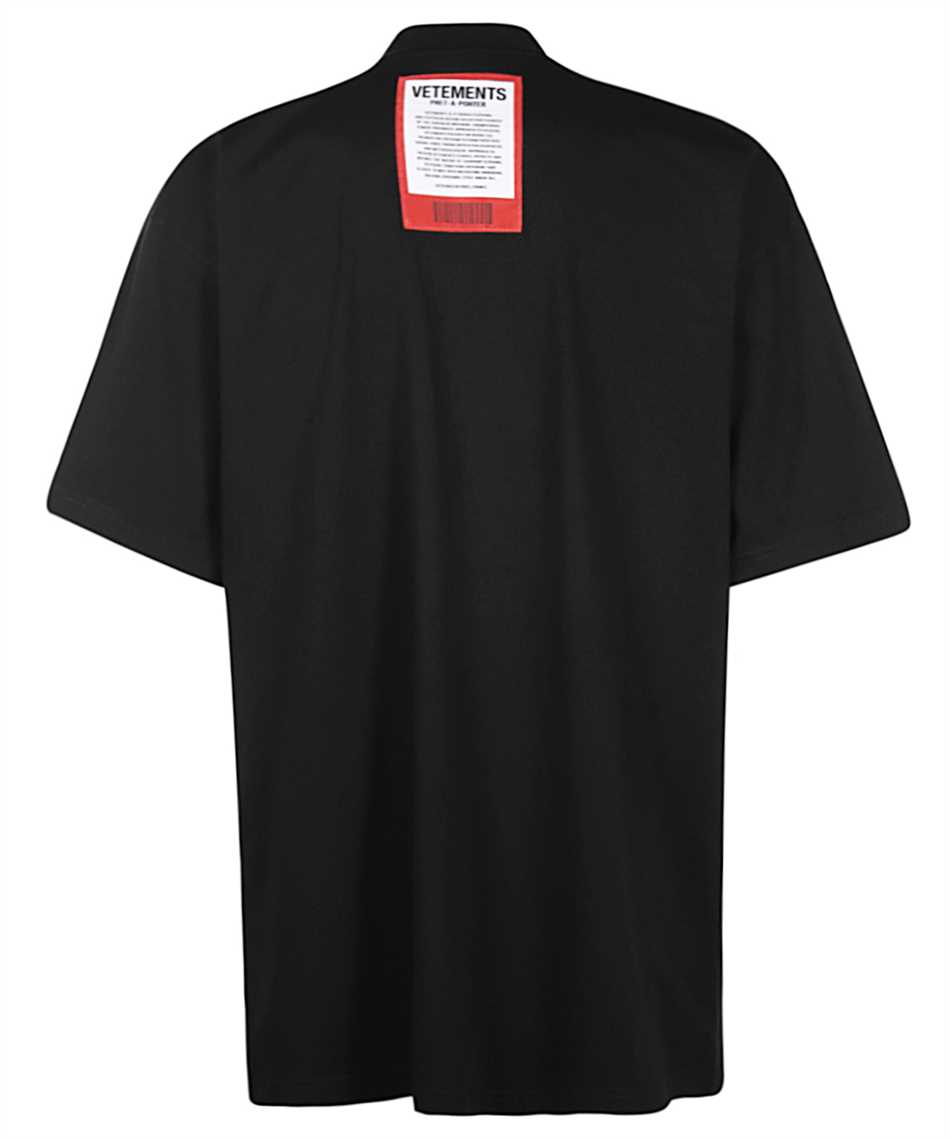 Vetements UE51TR540B LOGO PATCH T-shirt 2