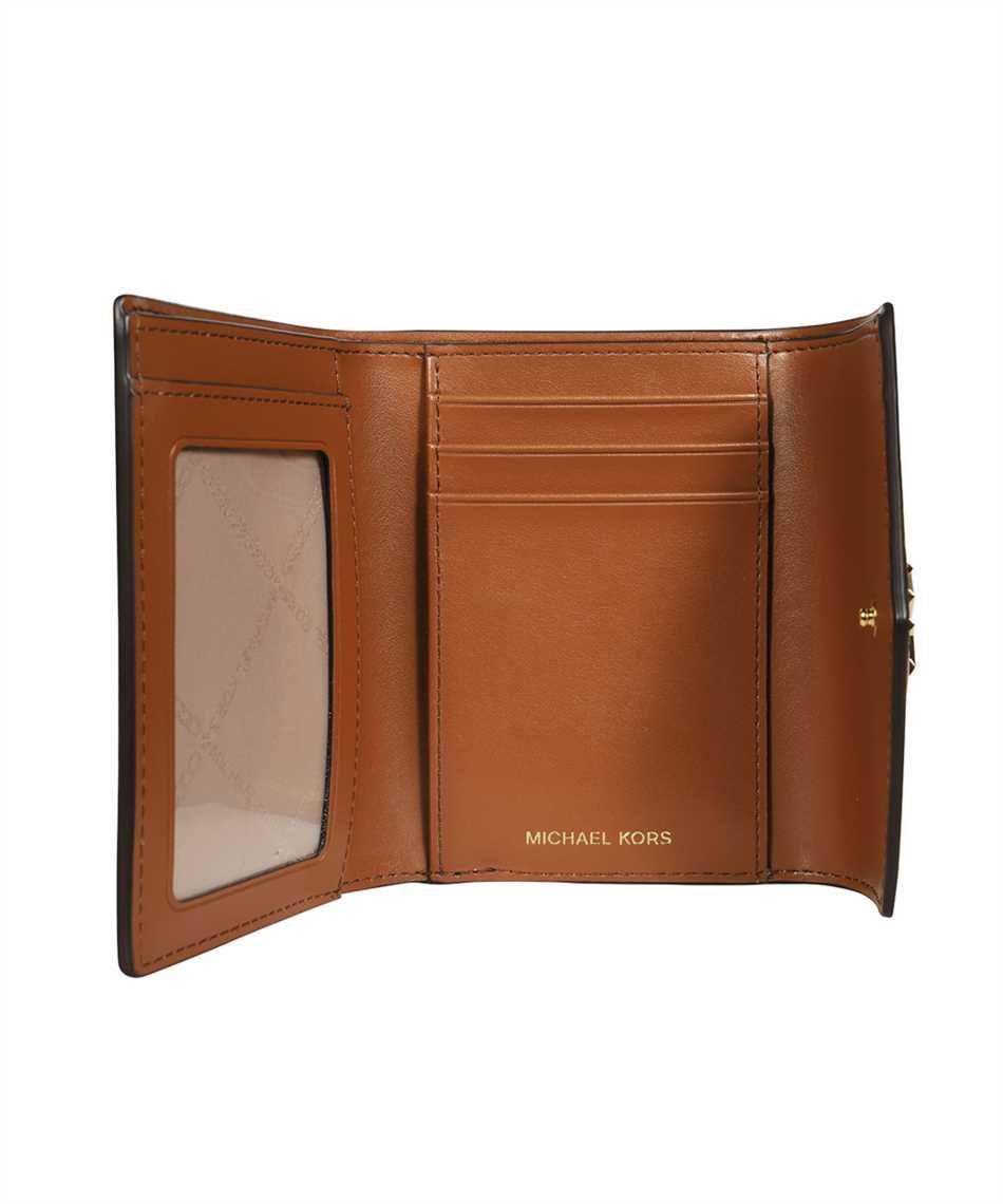 Michael Kors 34T1GNME6O CARMEN MEDIUM COLOR-BLOCK LOGO TRI-FOLD Wallet 3