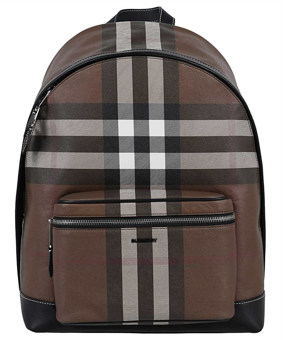 Burberry 8036549 CHECK E-CANVAS Zaino 1