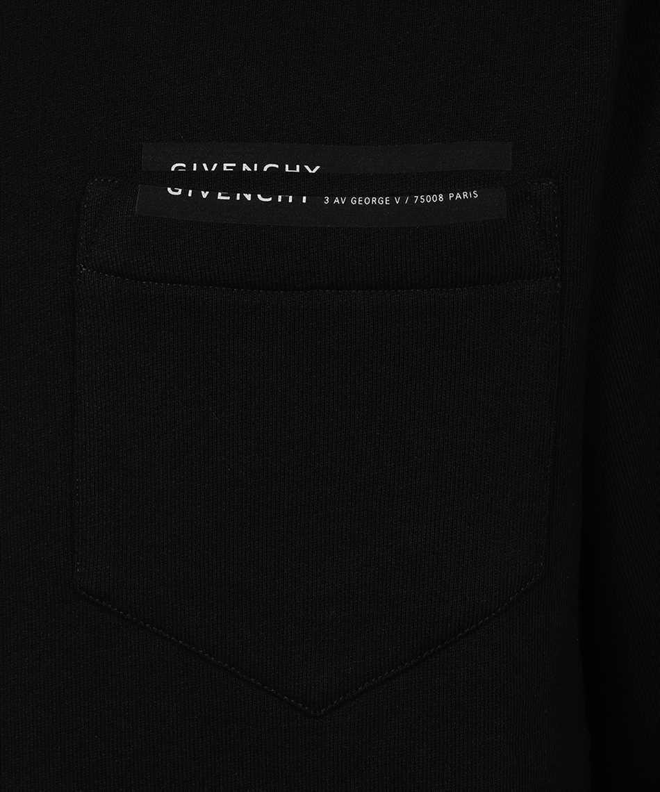 Givenchy BMJ065305B LOGO PATCH POCKET Sweatshirt 3