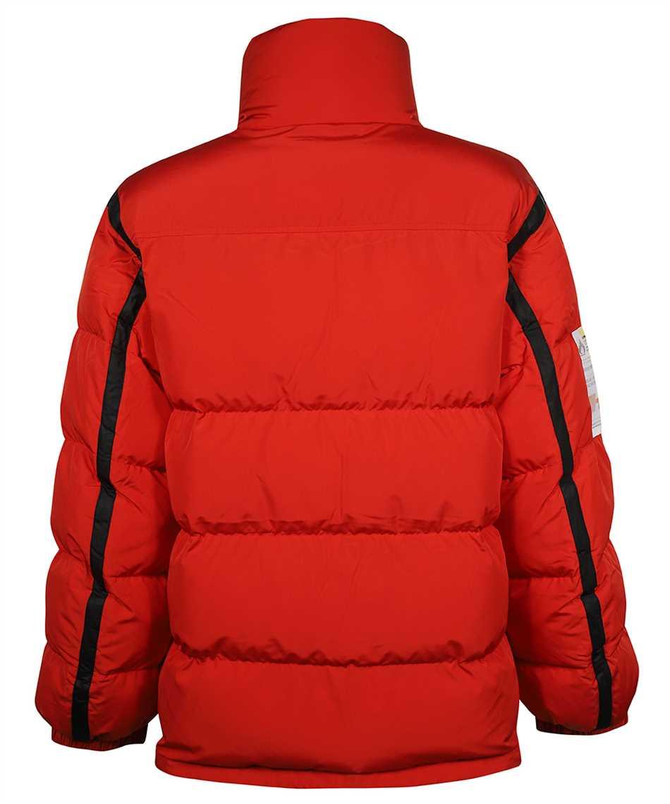 Heron Preston HMED008F21FAB001 LABEL NYLON PUFFER Jacket 2
