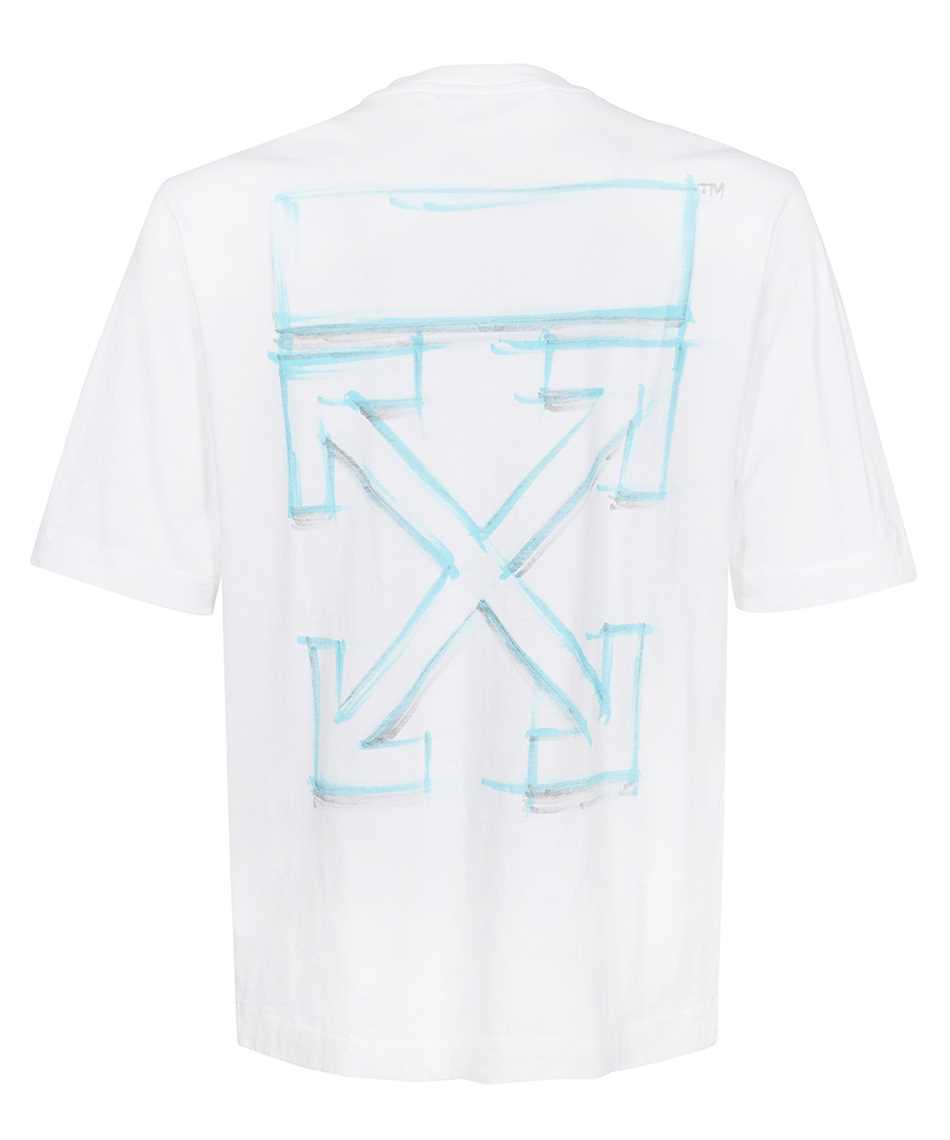 Off-White OMAA119F21JER023 MARKER S/S SKATE T-shirt 2