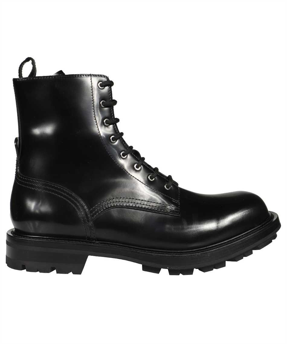Alexander McQueen 651621 WHZ80 SHINY LIQUID WORKER Boots 1
