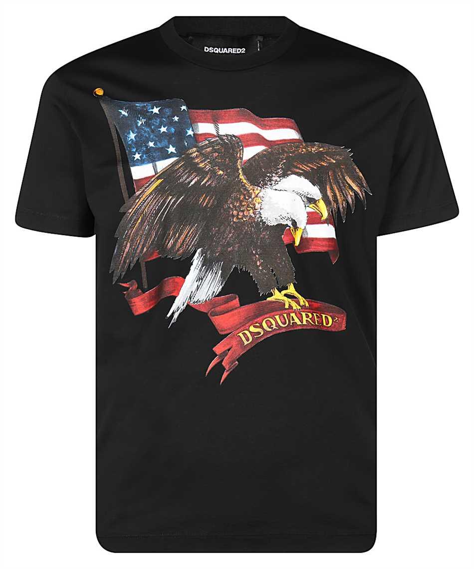 Dsquared2 S79GC0004 S22427 D2 ICON EAGLE T-Shirt 1