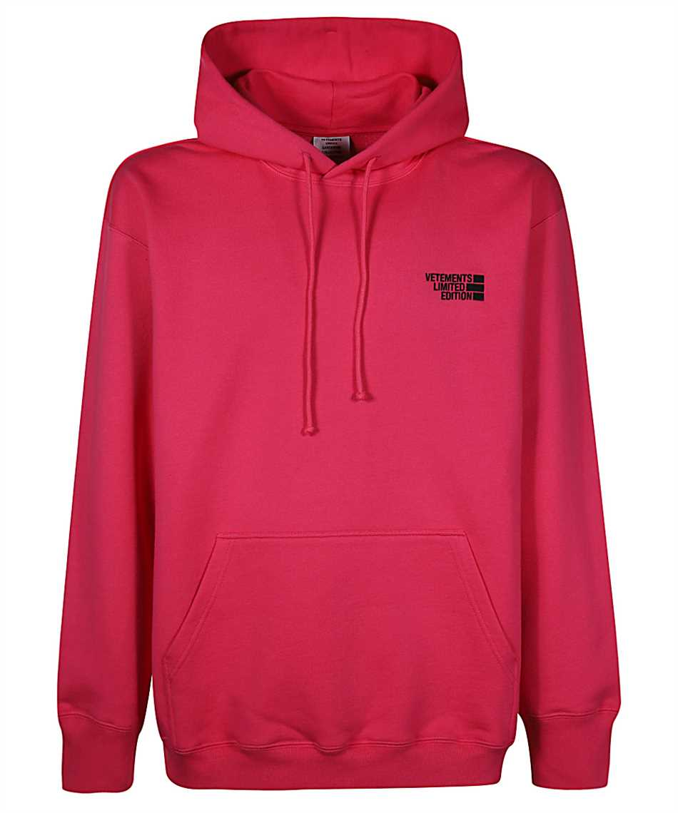 Vetements UE51TR730P LOGO LIMITED EDITION Hoodie 1