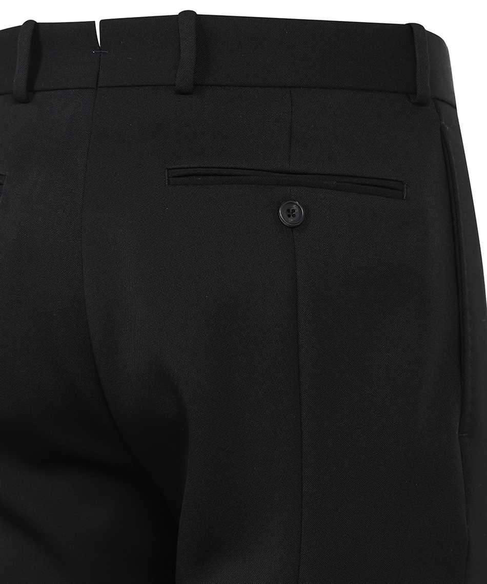 Alexander McQueen 624301 QRV01 CIGARETTE WOOL Trousers 3