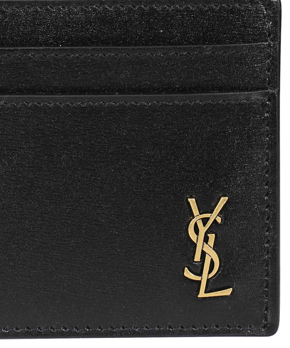 Saint Laurent 635262 02G0J TINY MONOGRAM Kartenetui 3