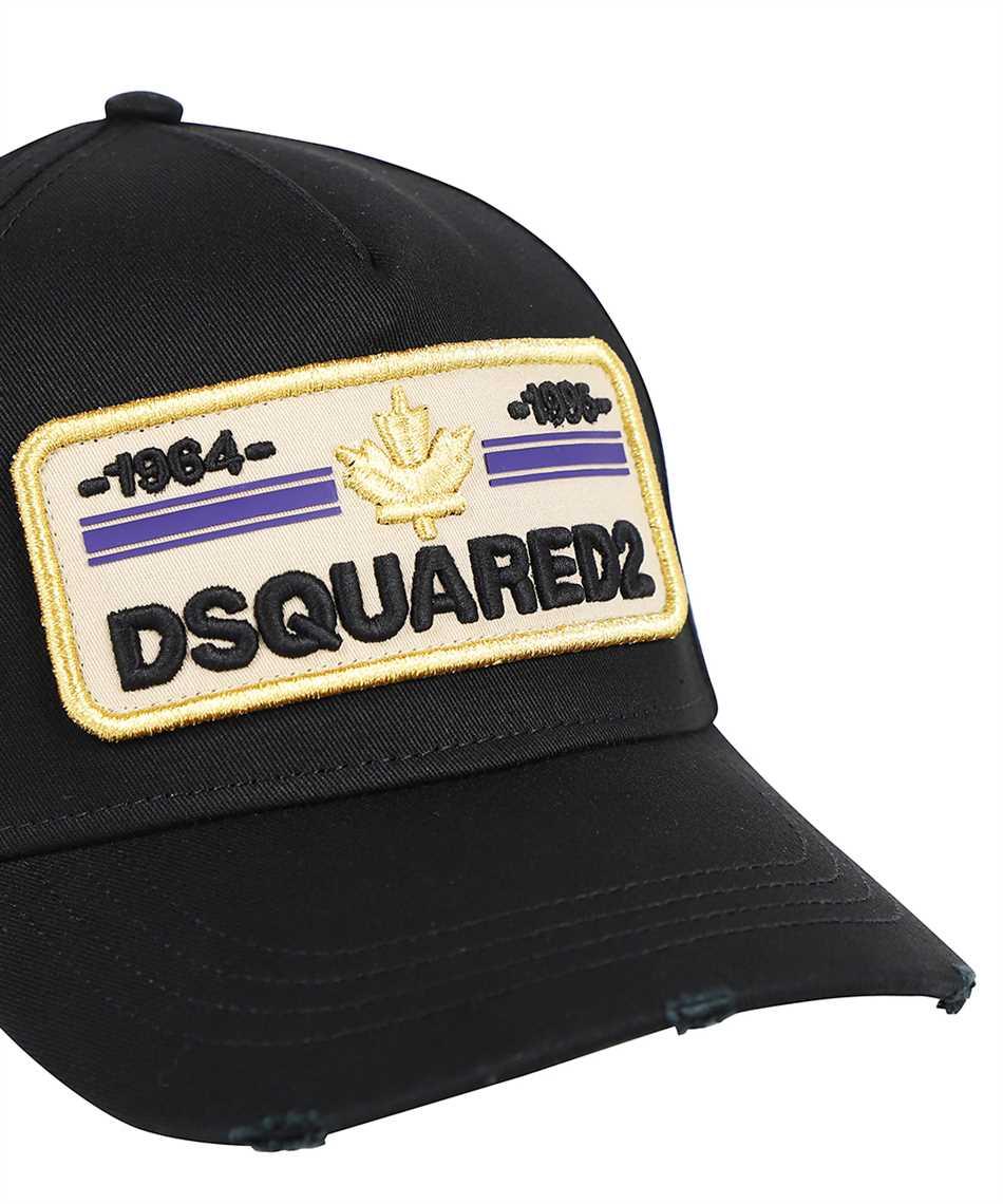 Dsquared2 BCM0502 05C00001 D2 PATCH Kappe 3