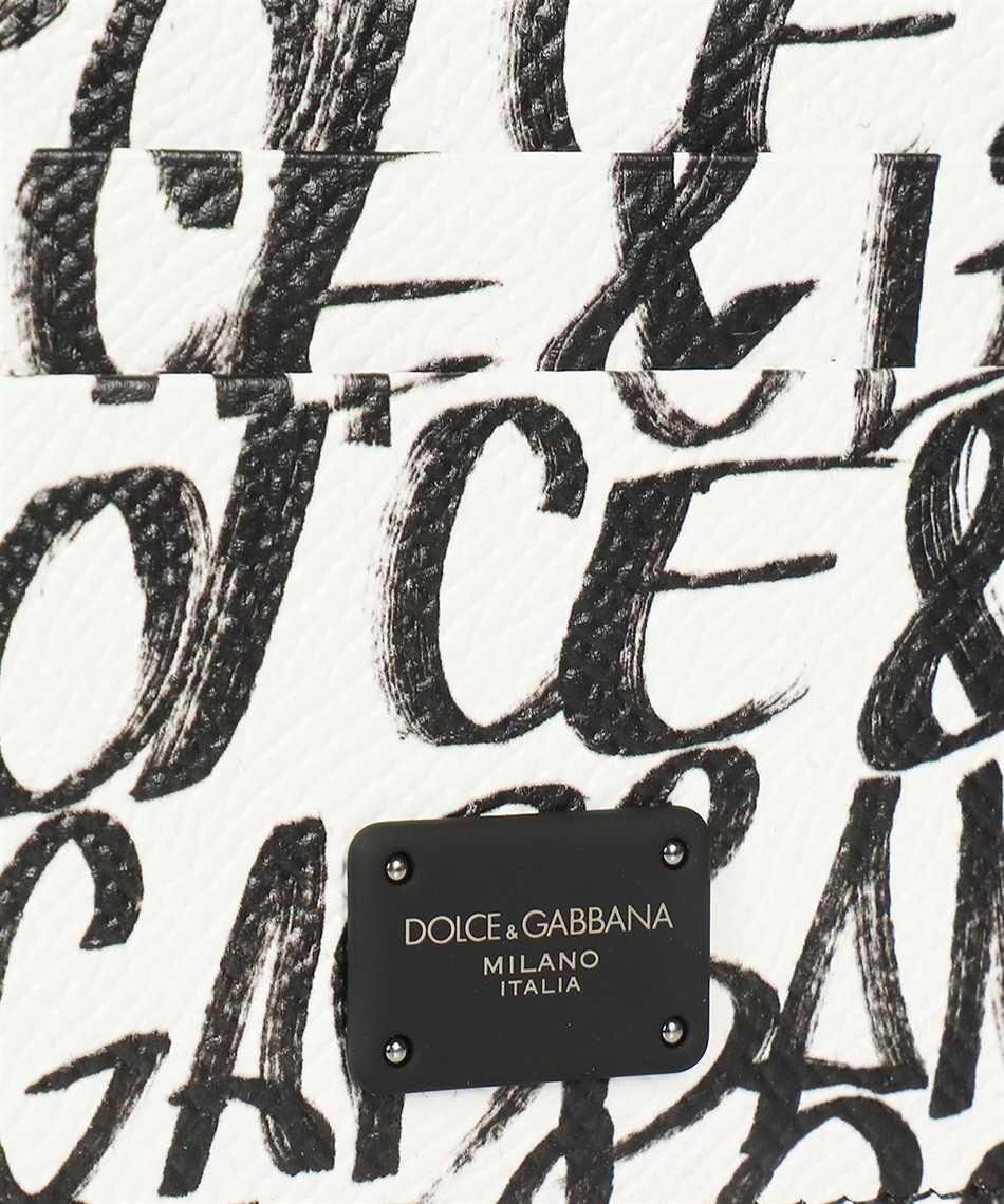 Dolce & Gabbana BP0330 AZ657 GRAFFITI PRINT Card holder 3
