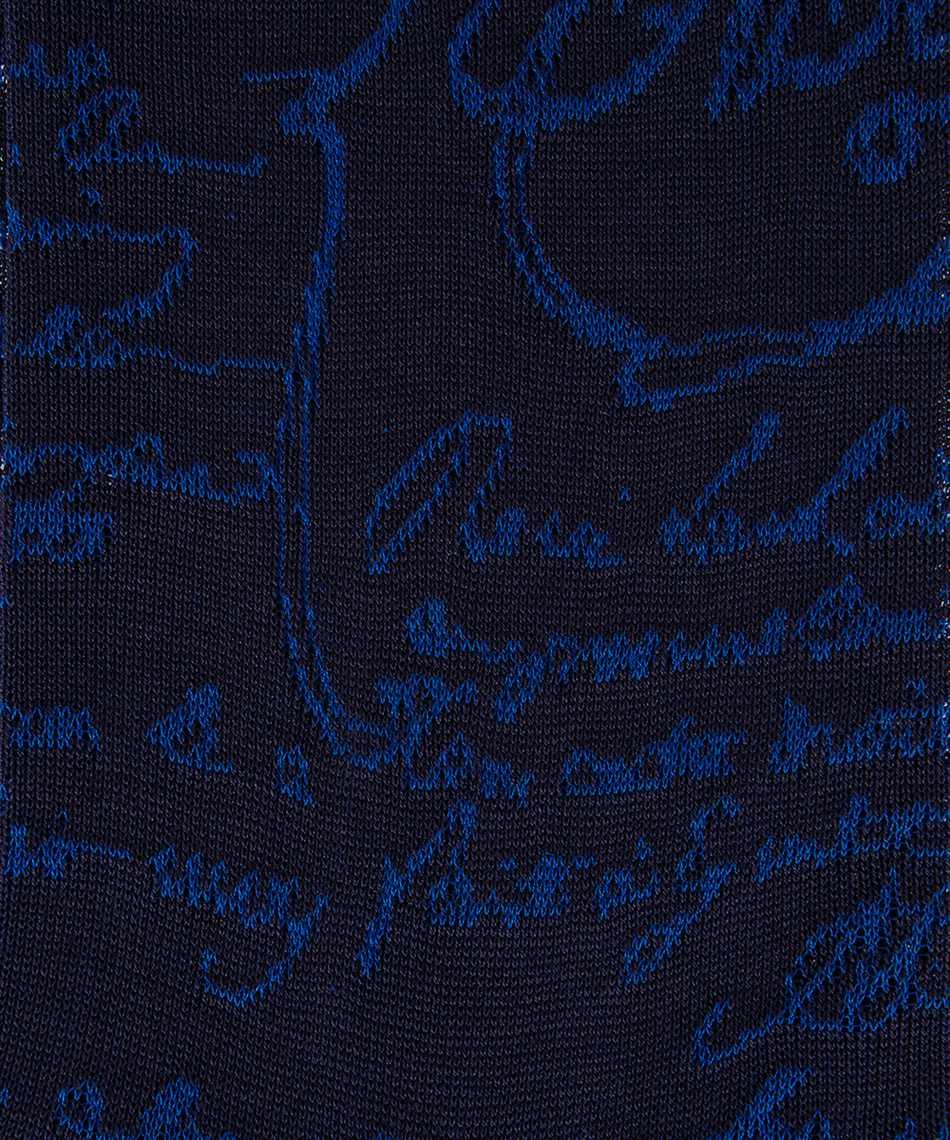BERLUTI K0038 021 SCRITTO Socks 2