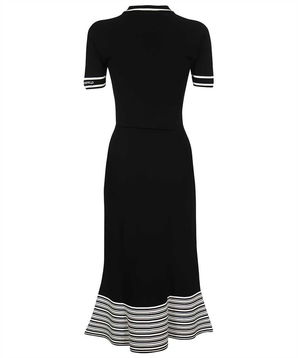 Karl Lagerfeld 215W1364 FLARED KNIT Kleid 2