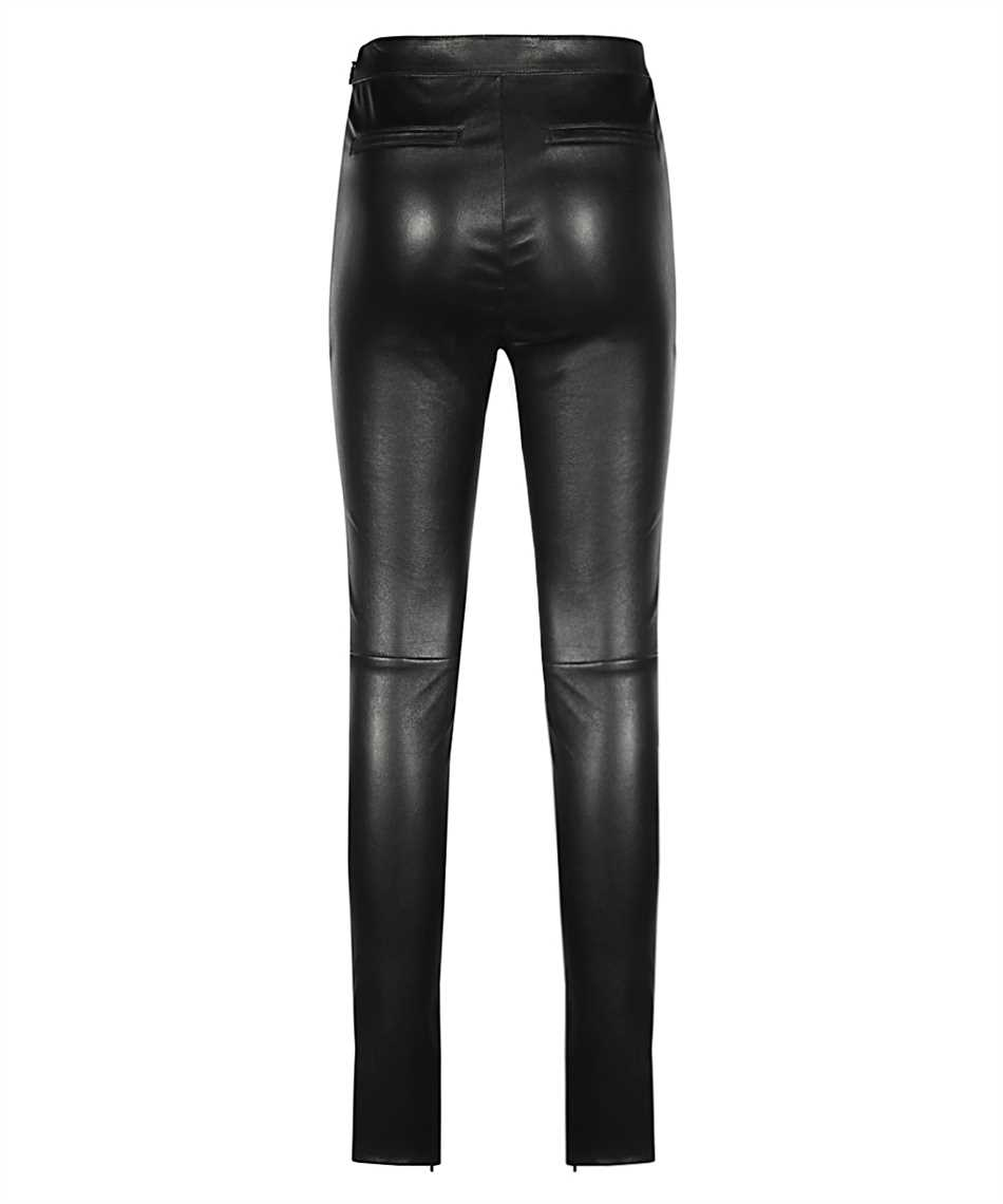 Saint Laurent 640153 Y5RH2 HIGH-RISE STRETCH Pantalone 2