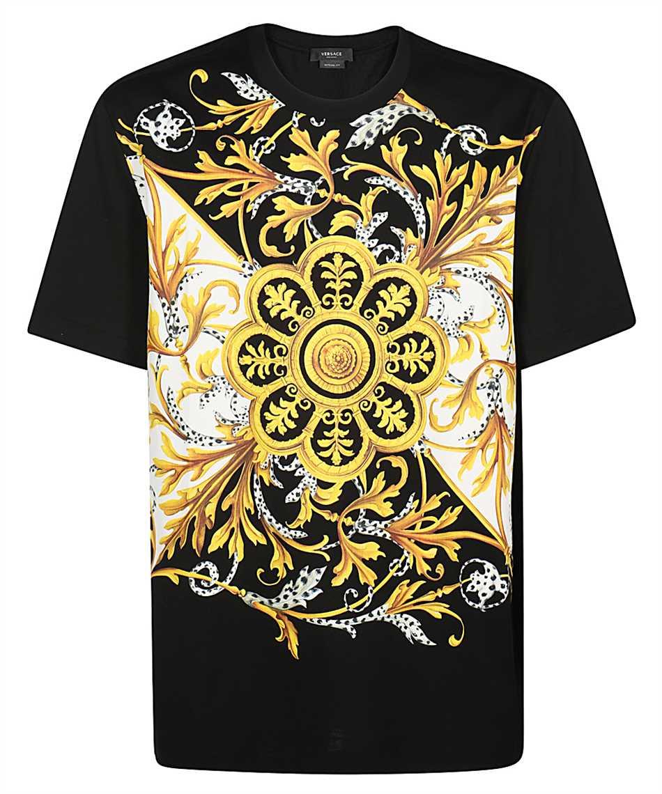 Versace A87371 A228806 BAROCCO ACANTHUS T-shirt 1