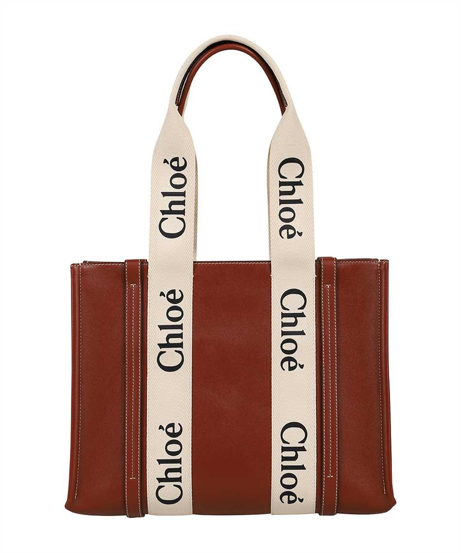 Chloé CHC21AS383F10 WOODY TOTE Borsa 2