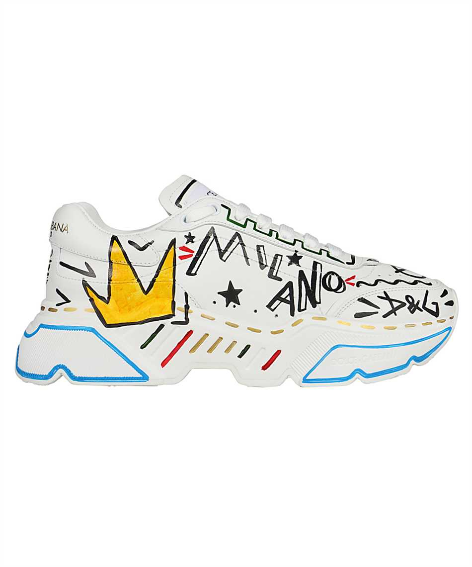 Dolce & Gabbana CS1791 A0233 HAND-PAINTED DAYMASTER Sneakers 1