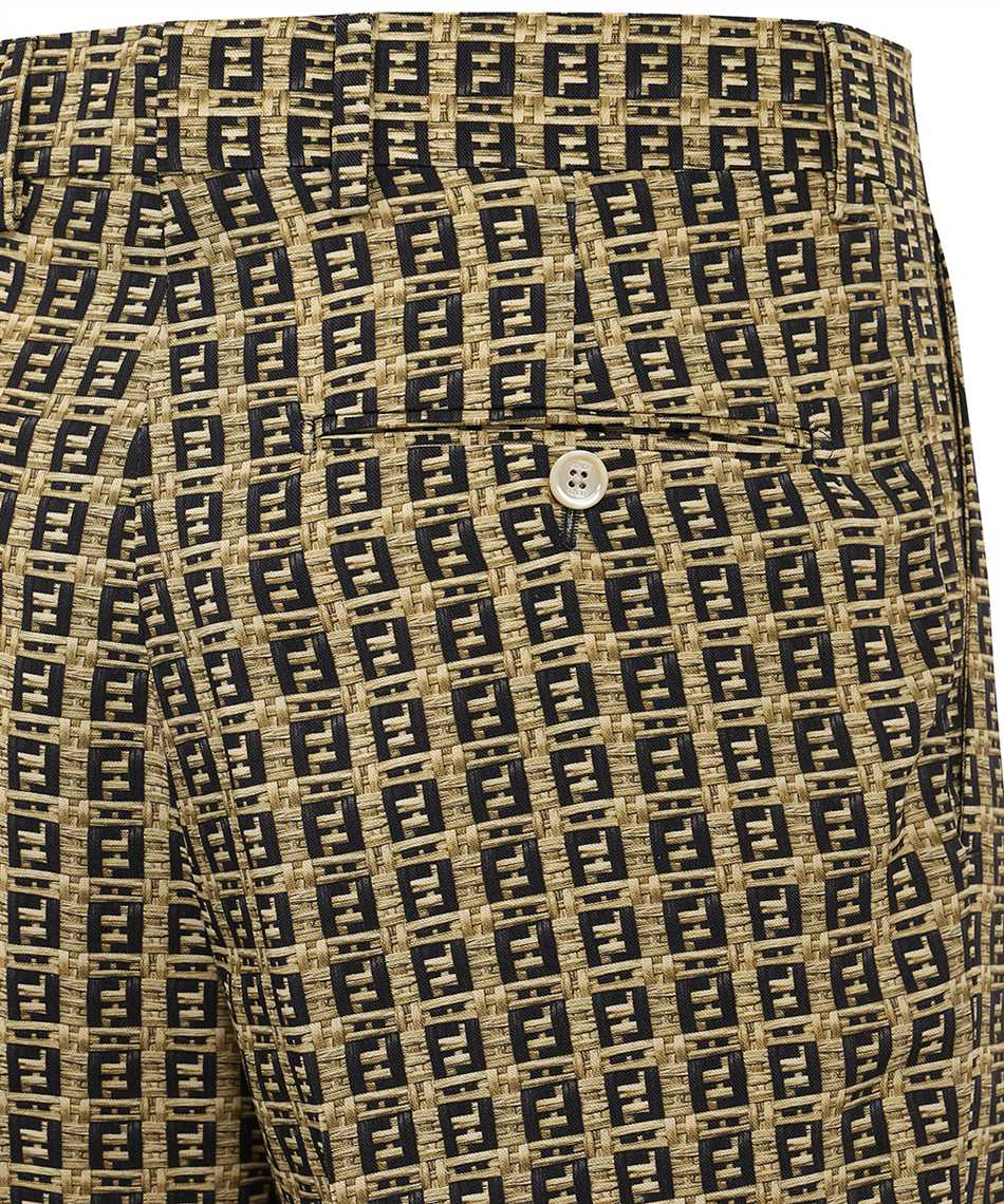 Fendi FB0521 AFEI FF MICRO PATTERN Shorts 3