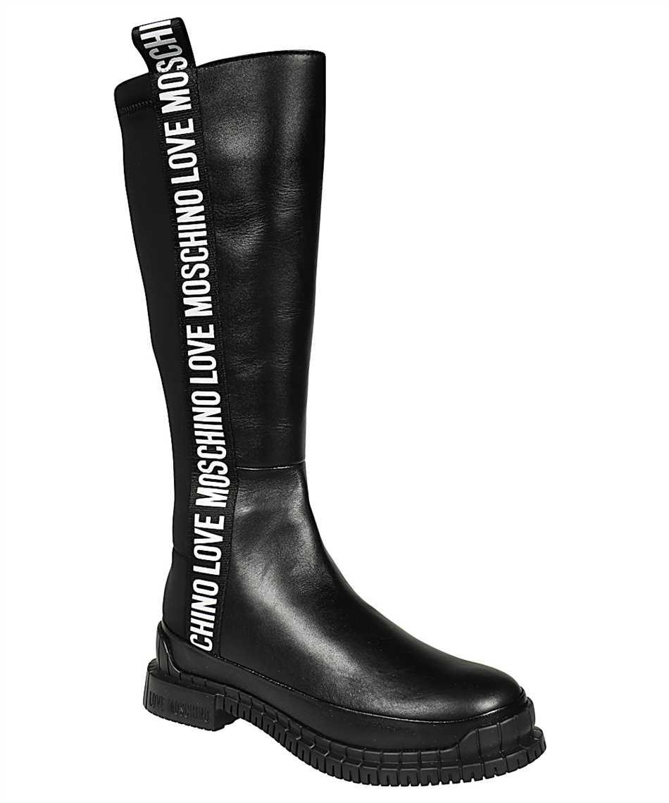 Moschino JA26073G0BJA ELASTIC BAND Stiefel 2