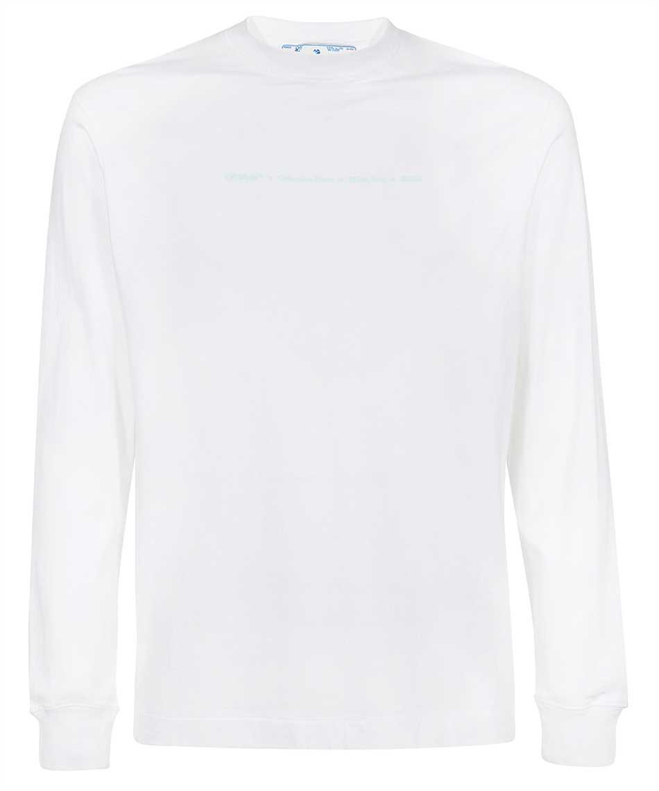 Off-White OMAB064F21JER016 MARKER L/S SKATE T-shirt 1
