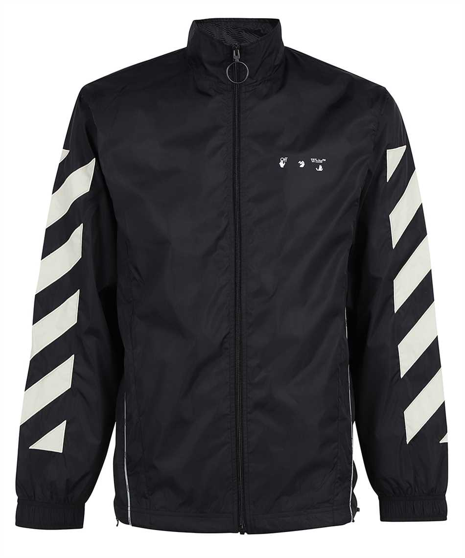 Off-White OMBD022F21FAB001 DIAG NYLON TRACKTOP Giacca 1