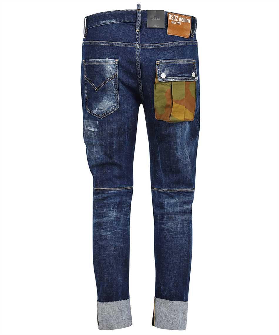Dsquared2 S74LB0950 S30342 DARK EASY WASH SAILOR Jeans 2