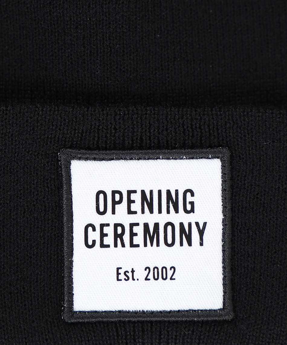 Opening Ceremony YMLC001F20KNI001 LOGO PATCH Beanie 3