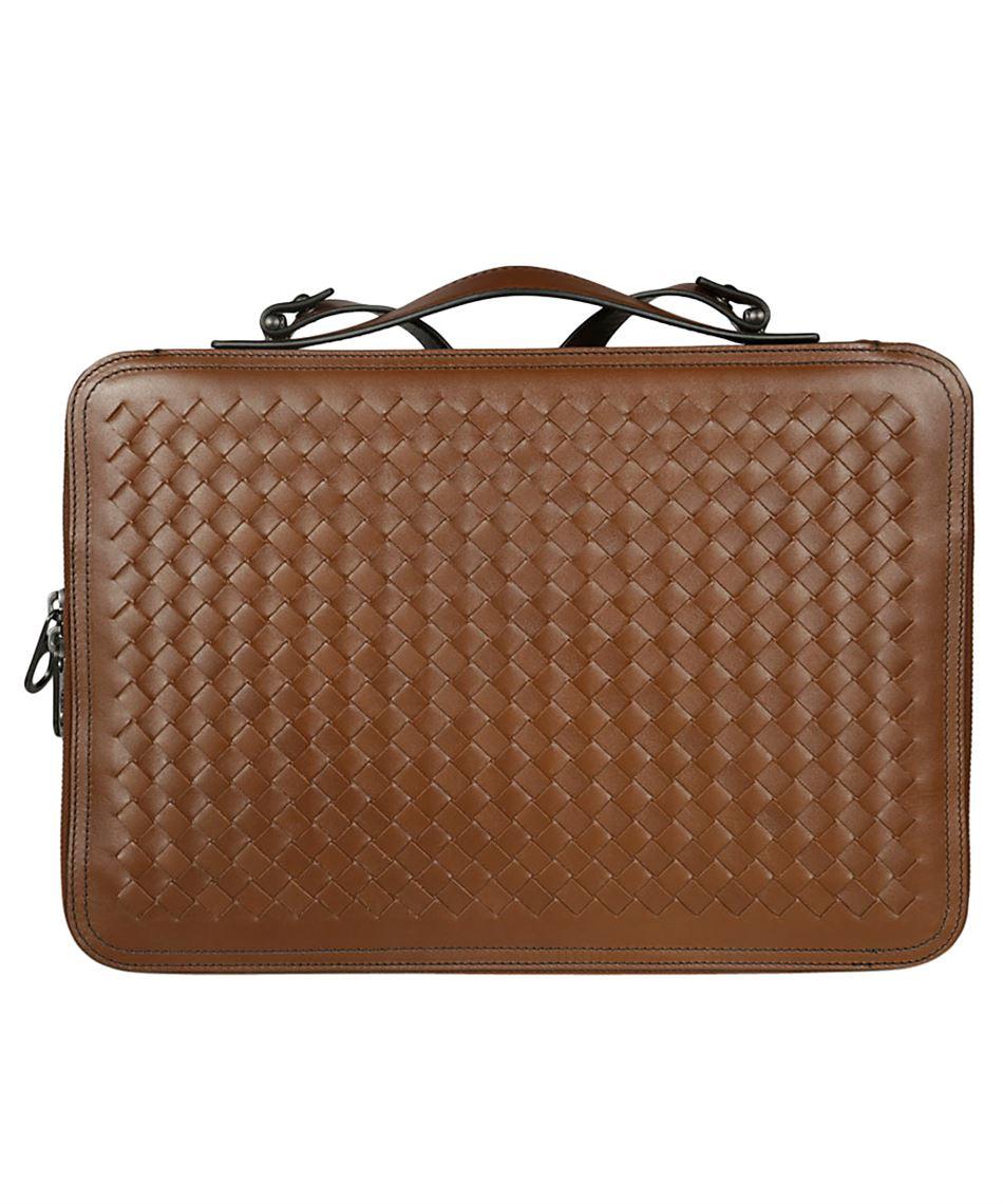 07bb2a90a6fc4 Bottega Veneta 536287 V4651 clutch bag with zip closure - D.LEATHER ...