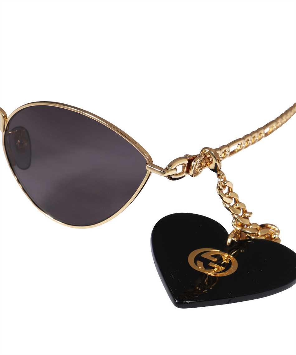 Gucci 663767 I3330 HEART SHAPED CHARMS CAT EYE Sunglasses 3